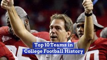 The Best In College Football History