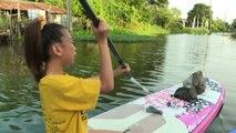 La lotta alla plastica di Lilly la Greta thailandese