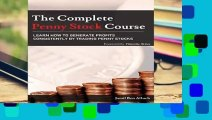 The Complete Penny Stock Course  Learn How To Generate Profits Consistently By Trading Penny