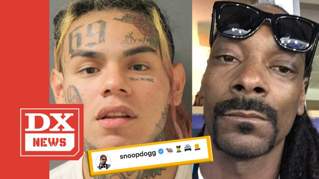 """Snoop Dogg Spells Out """"Snitch"""" With Emojis For Tekashi 6ix9ine"""