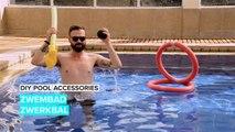 Speel zwerkbal in je zwembad
