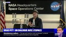 L'échange lunaire entre Brad Pitt et un astronaute de l'ISS