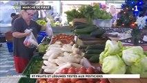 Des résidus de pesticides sur le pota local, les salades et les carottes importées