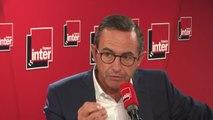 """Bruno Retailleau : """"Devant les ambassadeurs, Emmanuel Macron a reconnu que la France est désormais, en Europe, le pays du rebond du droit d'asile"""""""