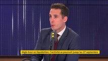 """Aigle Azur : """"L'objectif, c'est que l'offre d'Air France reprenne le maximum d'emplois [...] Nous visons 90% des emplois"""", affirmeJean-Baptiste Djebbari"""
