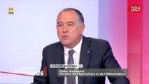 Glyphosate : « Je me prends des tombereaux de merde sur la figure sur les réseaux sociaux », déclare Didier Guillaume