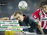 Il y a 16 ans - Pour Monaco, PSV rime avec épopée !