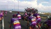 Un coureur fait sa demande en mariage pendant une étape (Tour d'Espagne)