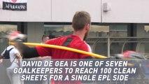 David De Gea - Man United career in numbers