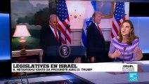 Législatives en Israël : B. Netanyahu durcit le ton