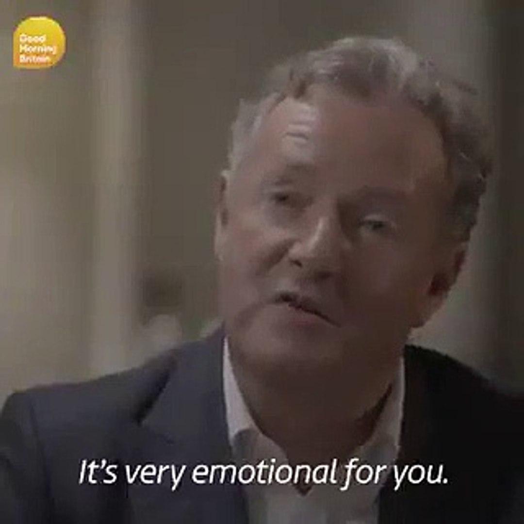 CR7 recordou o pai em lágrimas, numa entrevista muito emotiva.
