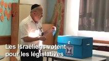 Les Israéliens aux urnes pour décider du sort de Netanyahu