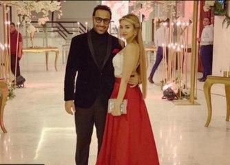 أول ظهور للفنان أحمد فهمي وهنا الزاهد عقب زواجهما