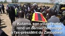 Le dernier adieu sobre de son village à l'ex-président Mugabe