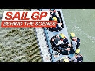 Behind The Scenes // Australia SailGP Team in New York // Episode 3: Rivals // SailGP