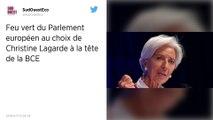 BCE : Christine Lagarde obtient le feu vert du Parlement européen et va succéder à Mario Draghi
