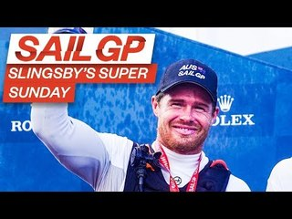 SLINGSBY'S SUPER SUNDAY AT COWES SAILGP