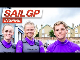 SailGP Inspire teams up with UKSA