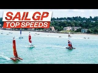 Top Speeds At Cowes 2019! // Records Broken? // Cowes SailGP