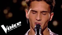 Serge Lama - Je suis malade | Zine Yaala | The Voice France 2018 | Auditions Finales