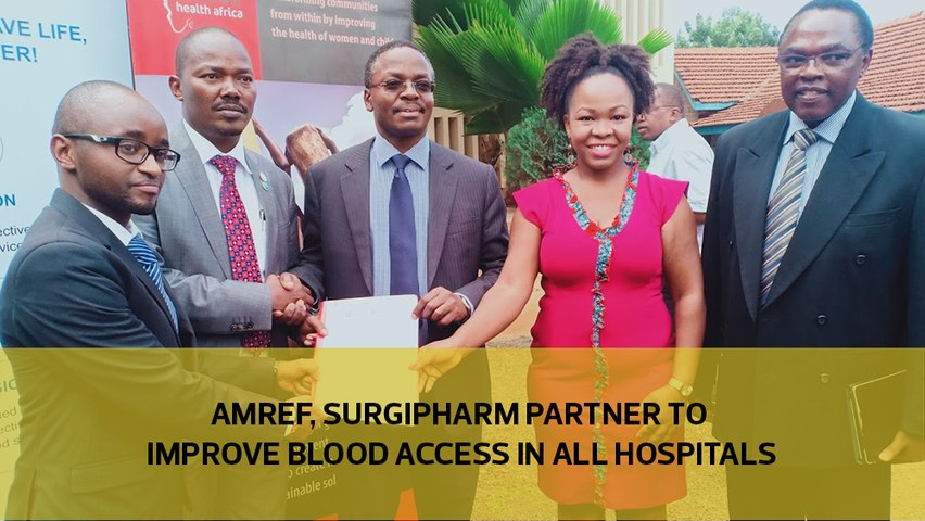 Amref, Surgipharm partner to improve blood access in all hospitals