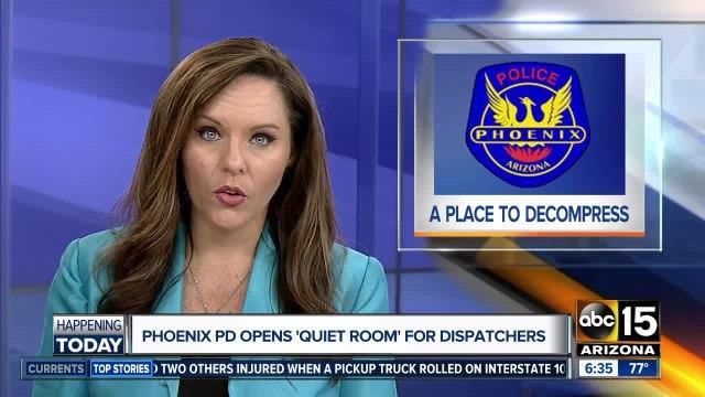 Phoenix 911 dispatchers to get new 'quiet room'