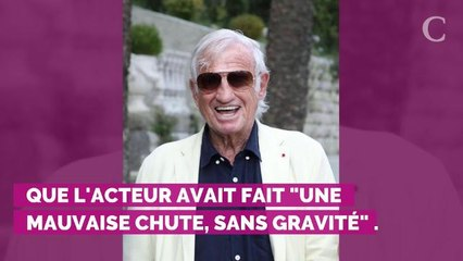 "Après une ""mauvaise chute"", Jean-Paul Belmondo annule une invitation et ""se repose"""