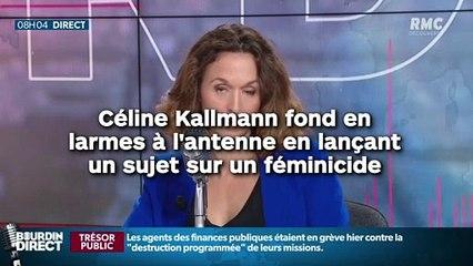 Céline Kallmann fond en larmes à l'antenne en lançant un sujet effroyable !