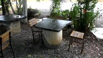 25 yıldır kahvehane masası olarak kullanılan taş, 2 bin yıllık yön tabelası çıktı