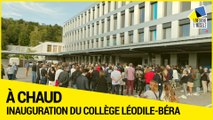 Inauguration du collège Léodile-Béra à Longlaville