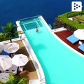 A paradise pool in Bali that is not suitable for people with vertigo