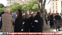 Les avocats marseillais se mobilisent pour la protection de l'enfance