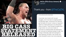 Big Cass Releases Statement of Incident Apologizing To AEW Joey Janela,WWE Pat Buck & Others + Battle with Mental Heath Depression