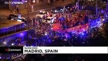İspanya dünya basketbol şampyonluğunu kutluyor