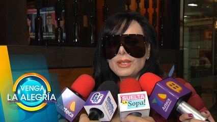 ¡Cero problemas! Maribel Guardia le manda bendiciones a José Manuel Figueroa. | Venga La Alegría