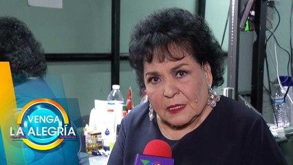 ¡Carmen Salinas recibirá premio por trayectoria en Las Vegas! | Venga La Alegría