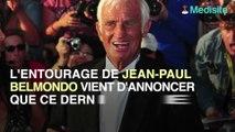 Jean-Paul Belmondo, victime d'une mauvaise chute