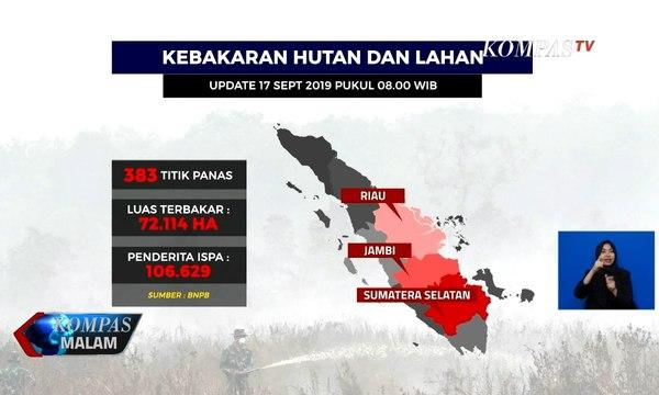 Upaya Penanggulangan Kabut Asap di Sumatera Selatan, Modifikasi Hujan Terkendala Minimnya Awan