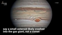 Astronomers Have Figured Out What Smashed Into Jupiter