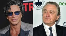 Mickey Rourke Reveals He's Had a 30-Year Feud With Robert De Niro