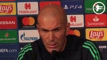 """Zidane : """"Paris fait partie des favoris"""""""