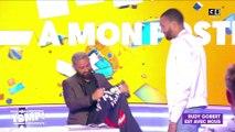 Le basketteur Rudy Gobert rend visite à Cyril Hanouna