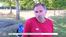 RUGBY Le champion tricolore formé à Tours
