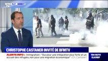 """Christophe Castaner à propos des manifestations des gilets jaunes: """"J'ai toujours cette inquiétude qu'il puisse y avoir des désordres le week-end prochain"""""""