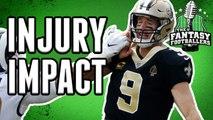 Fantasy Football - Drew Brees & Big Ben Injured in Week 2
