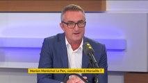 """Sur l'immigration, """"Emmanuel Macron est une copie de Nicolas Sarkozy"""", estime le sénateur Stéphane Ravier (RN)"""