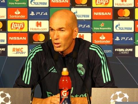 """Groupe A - Zidane : """"Areola aura la possibilité de jouer avec nous"""""""