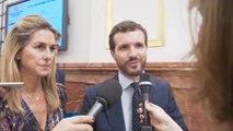 """Casado dice que Sánchez """"jamás se hace autocrítica"""""""