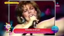 ¡Yolanda Andrade llama homofóbica a Verónica Castro!