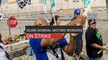 50,000 General Motors Workers On Strike